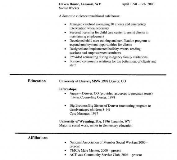 Best Social Worker Resume Example Livecareer. Social Worker