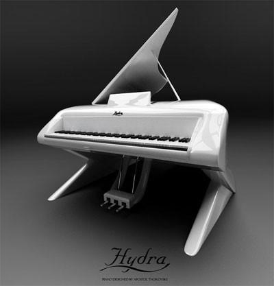 Et af Ancient Monsters Drejede Musical - Hydra Piano